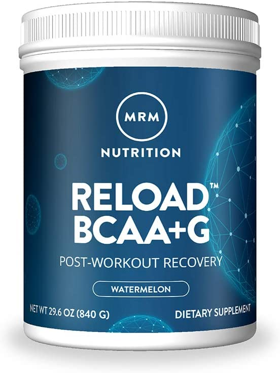 MRM BCAA+G Reload Post-Workout Recovery – Watermelon, 840g - 60 Servings Per Container
