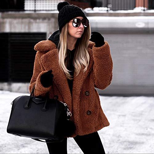 Hoodie Capuche Manteaux Pitashe Noel Blazer Hiver Cardigan Outwear Doudoune Acrylique Femme Hoody À Longues Chaud Manches Veste Poche Marrona Coat Jean Blouson Manteau Tops OHrqxdPwaO