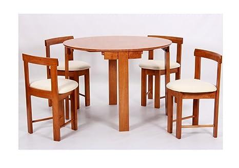 Home Gift Garden HGG - Juego de Comedor con 4 sillas ...