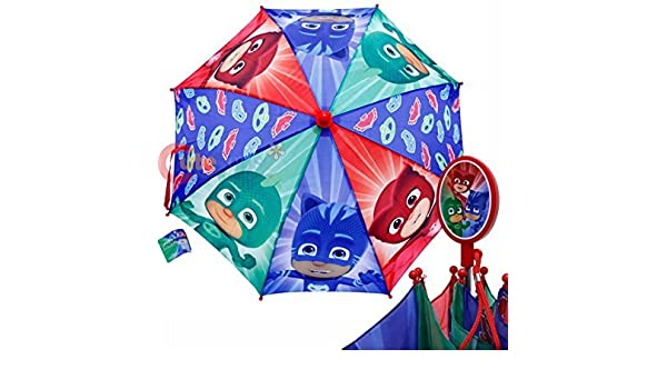 Amazon.com: Umbrella - PJ Masks - Owlette Gekko Boys/Kids New 281936: Toys & Games