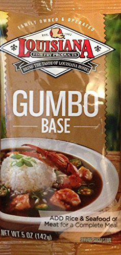 Louisiana Cajun Gumbo Base 5 OZ (Pack of 12)