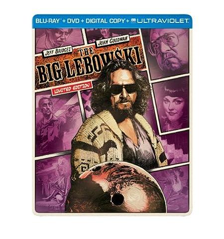 The Big Lebowski (Steelbook) (Blu-ray + DVD + Digital Copy + UltraViolet) (Universal Studios Steelbook)