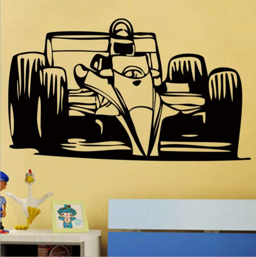 Removable Art Wall Decal Car Race Sport Speed Racing Man Sticker - Stickers For for $<!--$7.99-->