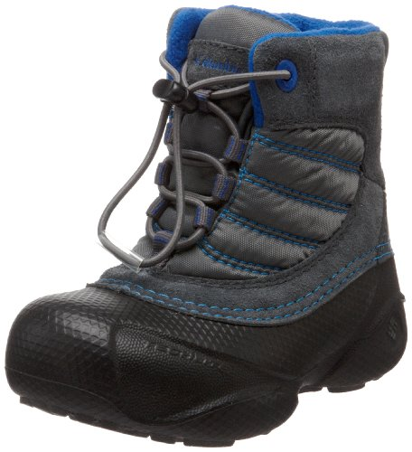 Price comparison product image Columbia Sportswear BV1473 Rope Tow Winter Boot (Toddler/Little Kid/Big Kid),Black/Azul,6 M US Toddler
