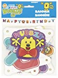 Unique Industries Wubbzy Jointed Birthday Banner