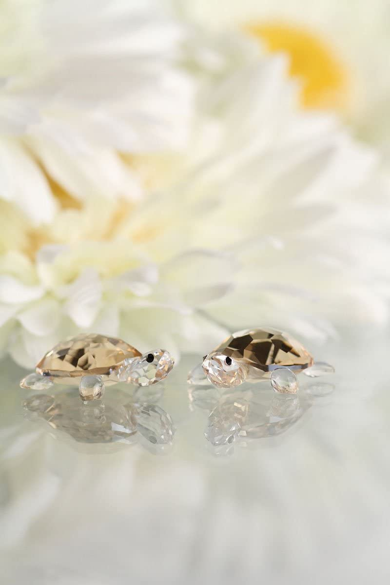 SWAROVSKI SW1130268 Baby Tortoises Figurines, Set of 2