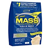 MHP, Up Your Mass Weight Gainer, Vanilla, 10 Pound