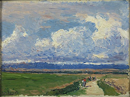 [Oil Painting 'Beruete Y Moret Aureliano De Paisaje Ca. 1910', 24 x 32 inch / 61 x 81 cm , on High Definition HD canvas prints is for Gifts And Bar, Foyer And Home Theater Decoration,] (Famous Musical Costume Designers)