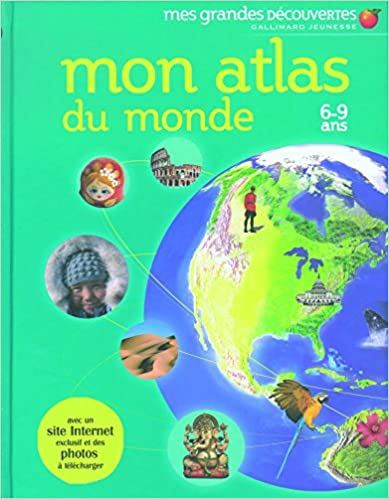 Livres Mon atlas du monde: 6-9 ans pdf, epub