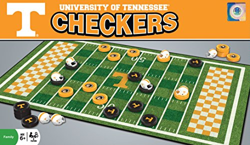 MasterPieces Collegiate Tennessee Checkers Game by MasterPieces