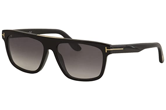 Amazon.com: Gafas de sol Tom Ford FT 0628 Cecilio-02 01B ...