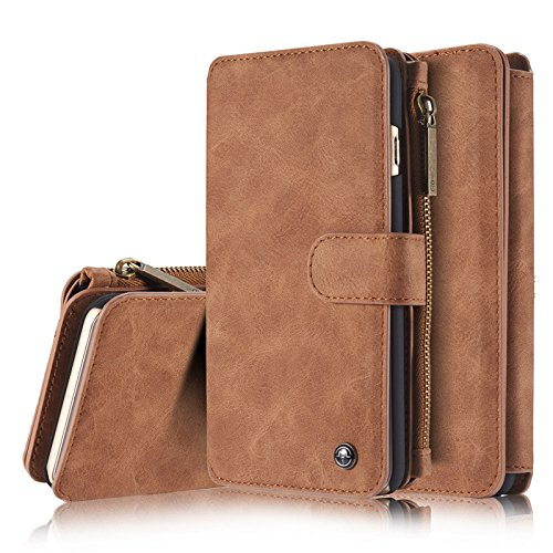 Price comparison product image Case for iPhone X Wallet Case,Busidna Hybrid PU Leather Smart Wallet Credit Card Slots Purse Pouch with Magnetic Phone Protective Cover Pocket Clutch for Apple iPhone X