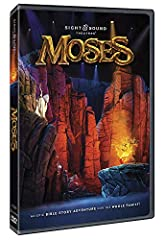 Set adrift as a baby and now wandering in the wilderness, Moses is one unlikely hero - until God calls him into action. From the Nile River to the Red Sea, journey with Moses as he leads God's people on an amazing adventure toward the Promise...