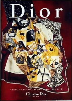 Amazon.fr - CHRISTIAN DIOR du 30-09-1998 collection foulards automne hiver  1998 - 1999 soiree 90 x 90 cm - Collectif - Livres a12f1801c4b