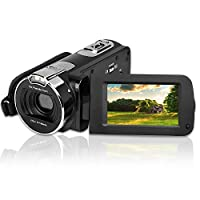 "KINGEAR Puto PLD051 2.7"" TFT Flash Digital Camera 1080P FHD LCD Rotation Screen Digital Camera with 18X Digital Zoom"