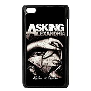 the Case Shop- Customizable Asking Alexandria Hard Plastic Case Cover For IPod Touch 4th , p4xq-218