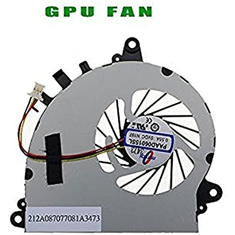 wangpeng New For MSI GS70 2PE GS70 2QE GS70 ONC GPU Cooling Fan PAAD06015SL N269 not fit CPU Fan