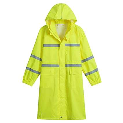 latest style so cheap best quality for Amazon.com: ZYMNL-YY Safety Reflective Rainwear Adult Long ...