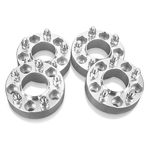 4 Hubcentric Wheel Spacers Adapters 5 Lug Fit 5x4.25 Ford: Taurus Thunderbird Windstar /Jaguar: S-Type X-Type /Lincoln: Continental - 1.5 Inch (38 mm) (Mm Aluminum Wheel Spacers)