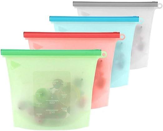 Silicone Storage Bag Grade Reusable Storage Bags Reusable Sandwich ...