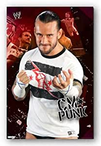 Trends International WWE CM Punk 11 Wall Poster Print