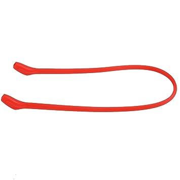 Beautyrain 1 PCS Sports Natation Gym Glasses Cordon de cou Chaîne de lunettes de soleil Chaîne Silicone Straps String h6MZglg