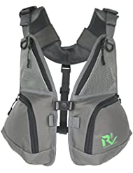 Revamp Gear Front Pack wear alone and pairs with backpacks and hydration packs. Hiking, biking, camping, skiing...