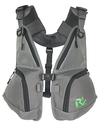 ck wear alone and pairs with backpacks and hydration packs. Hiking, biking, camping, skiing, snowboarding or as a fly fishing vest. (7' Pull Back)