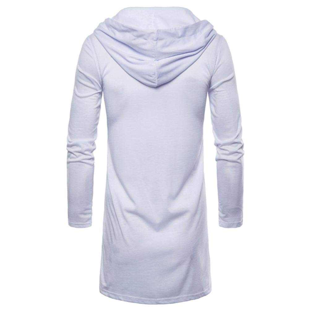 ♚Cárdigan con Capucha para Hombre,Moda Blusa de Manga Larga Chaqueta de Abrigo de Trinchera Larga Outwear Blusa Absolute: Amazon.es: Ropa y accesorios