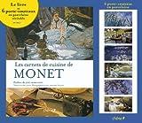 Coffret Les carnets de cuisine de Monet