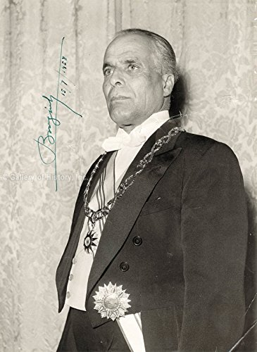 president-habib-ben-bourguiba-tunisia-photograph-signed-07-15-1958