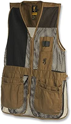 Browning, Trapper Creek Vest, Clay/Black XX-Large