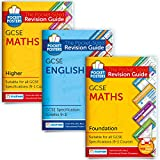 GCSE English, Maths (Foundation) & Maths (Higher) Study Pack | Pocket Posters: The Pocket-Sized Revision Guides | GCSE Specification | Free Digital Editions with Over 2,600 Assessment Questions!
