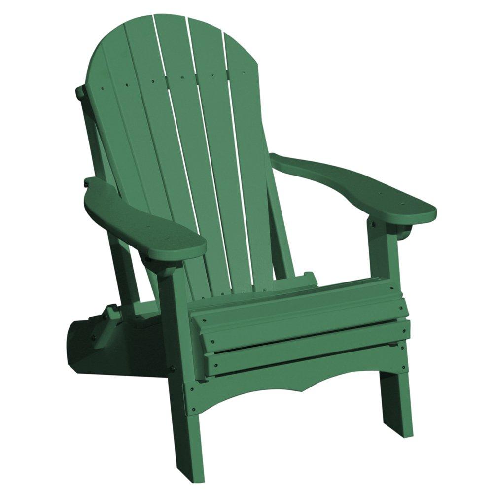 Incroyable VIFAH V1082 G Recycled Plastic Folding Adirondack Chair, Green: Amazon.co.uk:  Garden U0026 Outdoors