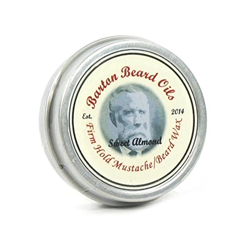 Barton barbe huiles barbe et Moustache cire amande douce parfum 1 oz