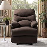 Vosson Massage Recliner Chair Electric Heated Ergonomic Massage Chairs Recliner Microfiber Heated Recliner with 8...