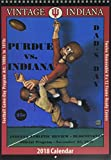 Vintage Indiana Hoosiers 2018 College Football Calendar: Football Game-day Program Art: 1900s to 1970s