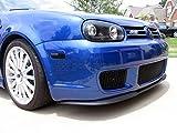 Front Bumper Spoiler Lip In CUPRA R Design For Audi A4 S4 RS4 A6 S6 RS6 C5 B7 B6 B5 S Line RS & VW Golf MK4 4 IV R32 + Volvo S60R V70R