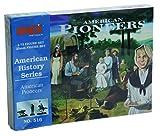 American Pioneers American History Figures Set 1/72 Imex