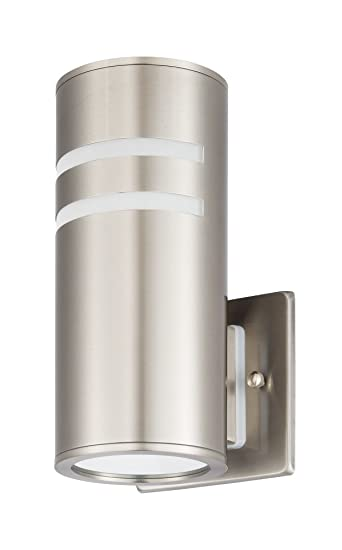 amazon com cp ul modern 60w porch wall sconces outdoor cylinder