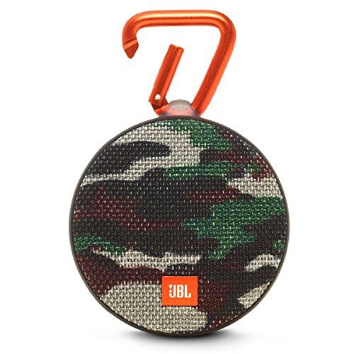 JBL Clip 2 Waterproof Portable Bluetooth Speaker (Camo)