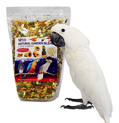 Birds LOVE All Natural Garden Blend Bird Food for Parrots 6lb