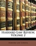 Harvard Law Review, School Harvard Law, 114838426X