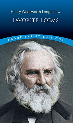 Favorite Poems (Dover Thrift Editions) (Henry Wadsworth Longfellow Best Poems)