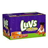 Health & Personal Care : Luvs With Ultra Leakguards Big Pack Size 3 Diapers 108 Count by Luvs