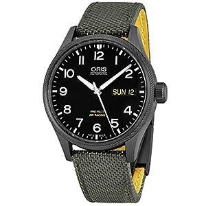 Oris Grande Corona Automático Día Fecha Aire Racing Edition Vi de los Hombres Reloj 0175276984284-set 1