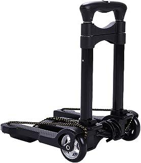 MMKKU Alliage d'aluminium Mini Bagage Pliant Panier d'achat Panier Portable Chariot à la Maison Chariot