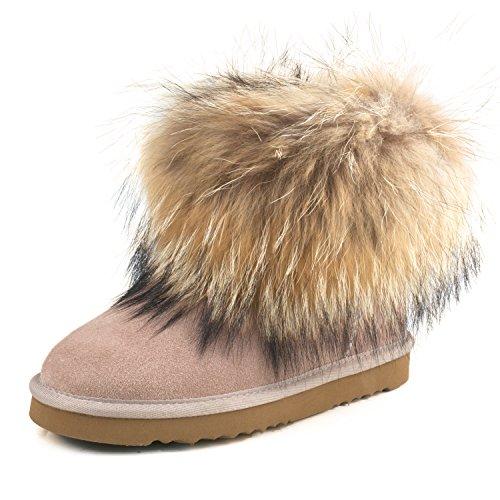 Shenduo Boots Shoes Winter Ankle B9251 Women's Snow Sandy zAw7zr