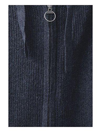 Cecil Blu Cardigan Blue 10157 Donna deep Melange 87zfr8nx