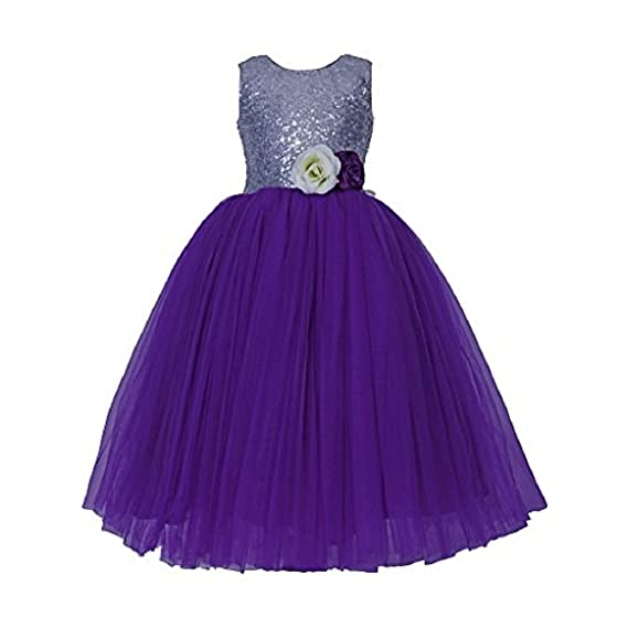 01e386bfd476 SOFYANA Baby - Girl s Flower Lace Tutu Long Dress Costume Cindrella ...